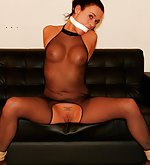 Dutch beauty is shamefully roped & vibed