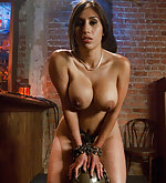 Waitress punished and fucked in bondage