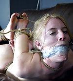 Tight roped bondage and suspension