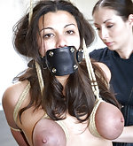 Roped, stripped, spanked and trained