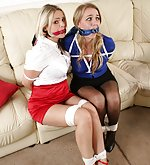 English beauties in bondage