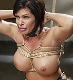 Nipple predicament bondage and slave training