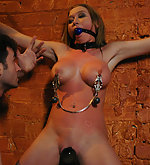 Beauty suffers in hard bondage and sex