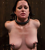 Strapped tight, pegged, clamped, vibed