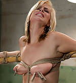 Roped, spanked, trained by sadistic couple