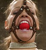 Two bitches in rope bondage predicaments