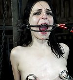 Caged, tortured with enema, used
