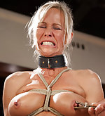 Domestic milf roped, trained, whipped, dildoed