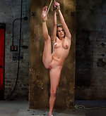 Her first hardcore bondage experience