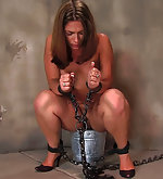 Chains, cane, paddle, enema nozzle