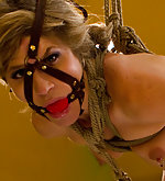 Roped, fisted, flogged, used, strapon fucked