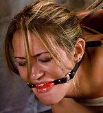 Trina bound, tormented & forced to cum