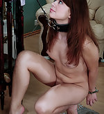 Handcuffed, whipped, waxed and fucked
