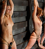 Four girls roped, trained and tested