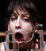 Locked, tortured with water, cuffed, caged