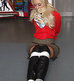 Bound and gagged secretaries