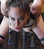 Hard steel, strict chains, tight leather straps