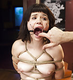 A hard lesson in bondage and orgasm denial
