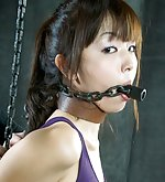 Her first time in metal bondage