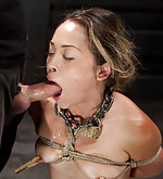 Intense bondage and non stop fucking