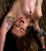 Tight hard body fucked upside down