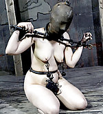 Shackled, hobbled, dildoed, iron masked