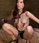 Cuffed, clamped, pegged and trained