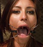 Sexual punishment, strict bondage, rough sex