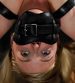 Blondie subjected to brutal bondage