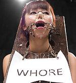 Humilation bondage games, facial torment