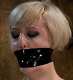 Severely bound, tightly gagged and abused