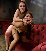 Jade in sexual lesbian bdsm