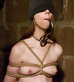 Kristine gets roped, hooked and trained